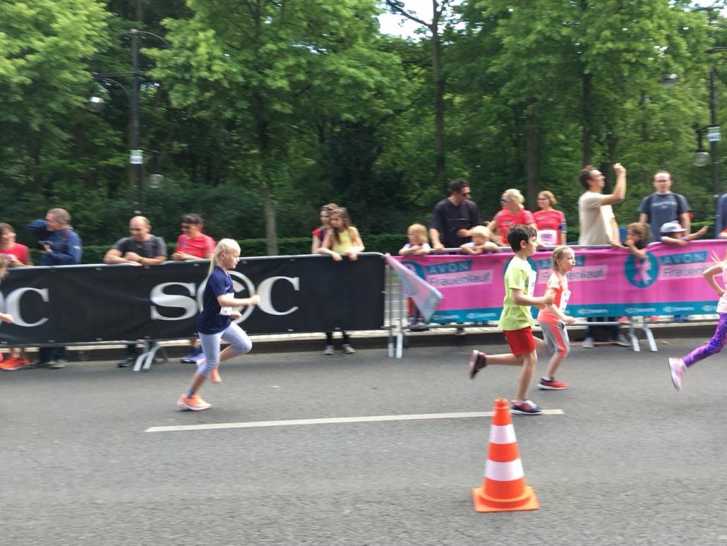 18. Mai 2019 - Bambini-Lauf beim AVON Frauenlauf in Berlin